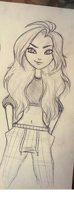 best 25 cute girl drawing ideas on pinterest