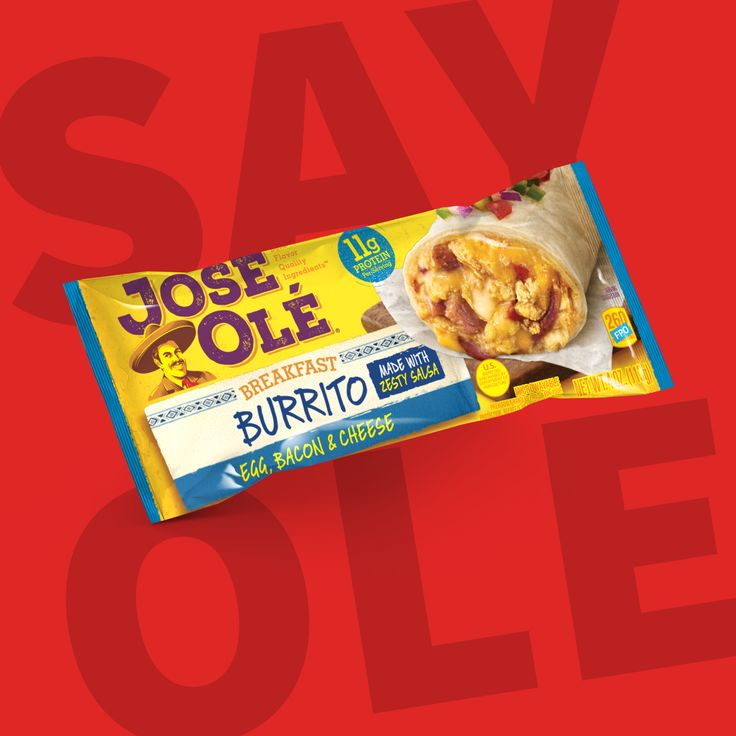 Just Say Olé with our Burritos