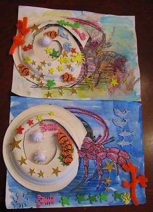 Hermit Crab - a wonderfully creative idea for a delightful book.
