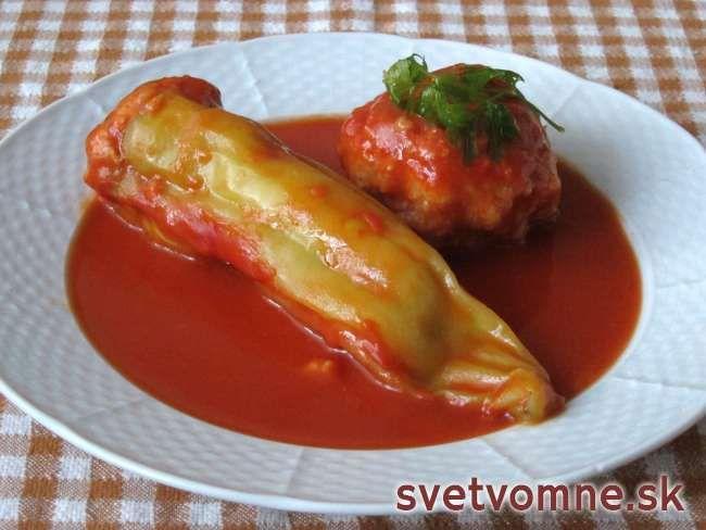 Plnená paprika • Recept | svetvomne.sk