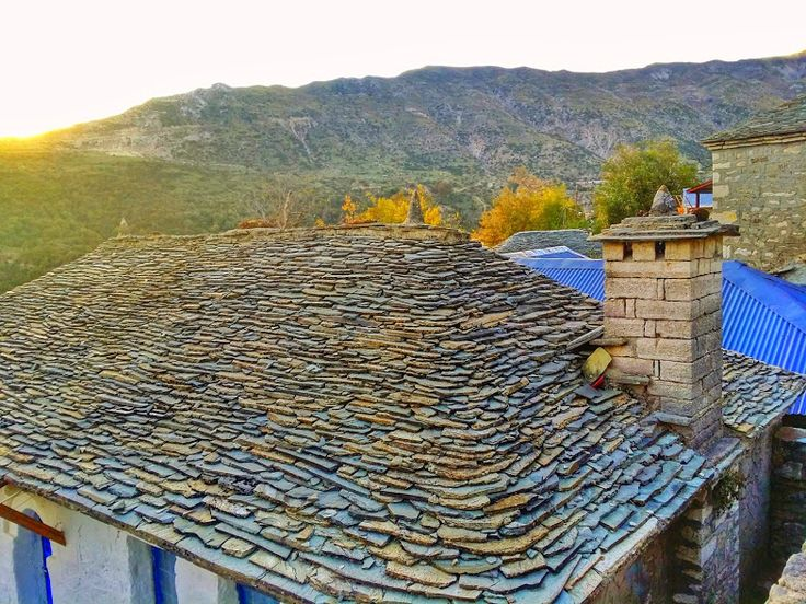 Kalarrytes, an ancient Greek village in Epirus, Greece