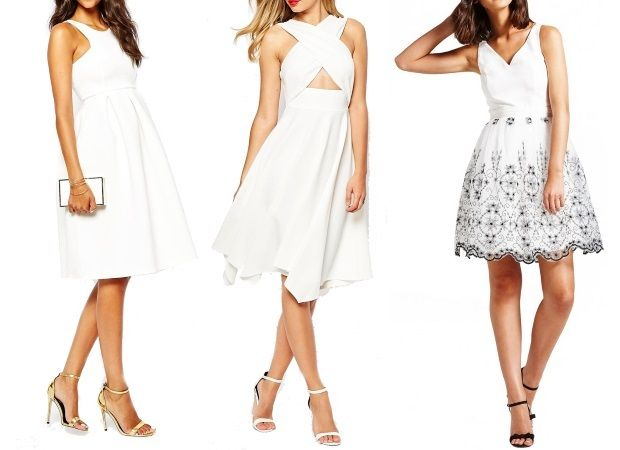 18 Engagement Party Dresses for the Bride - weddingsonline.ie. White engagement dresses, white dress, little white dress