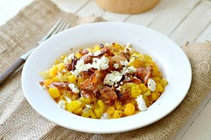 Butternut Squash, Bacon and Goat Cheese Breakfast Scramble | Tasty Kitchen: A Happy Recipe Community!