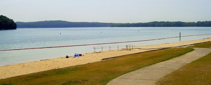 Percy Priest Lake S Swimming Beach Other Middle Tennessee Beaches Hidden Beach Lake Swimming Beach