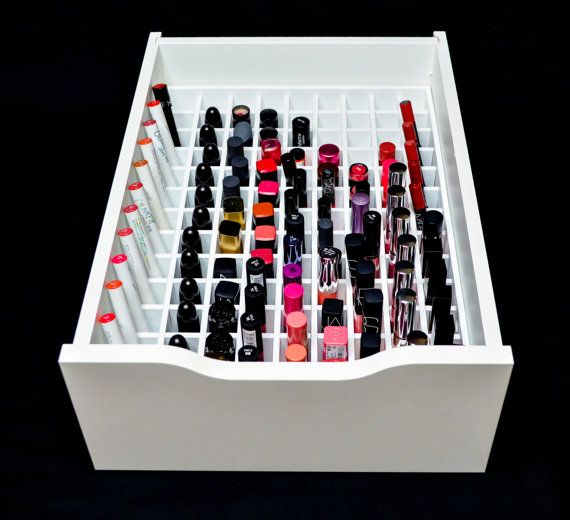 Lipstick Drawer Organizer Fits Ikea 174 Alex Drawer Units