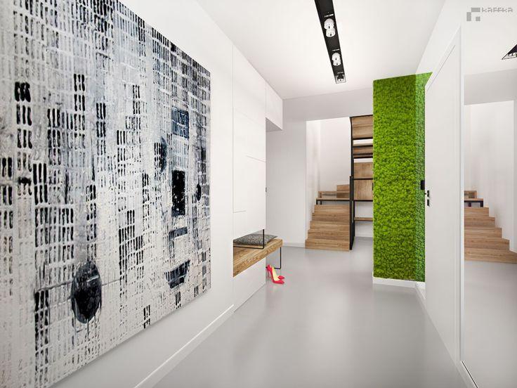projekt: Katarzyna Francug, Jacek Doszyń Pracownia Kaffka hall/ minimalism