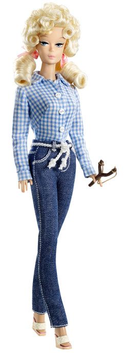 Barbie as Elly May Clampett