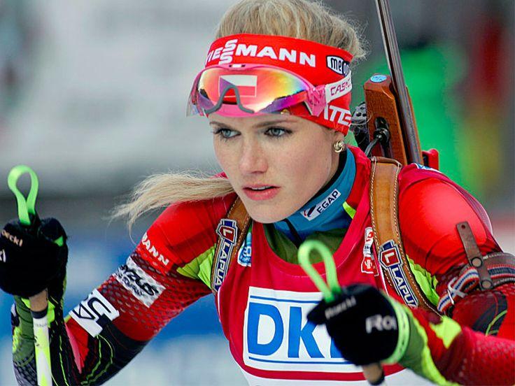 Gabriela Soukalova, biathlète tchèque