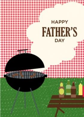 Father's Day BBQ Cards
