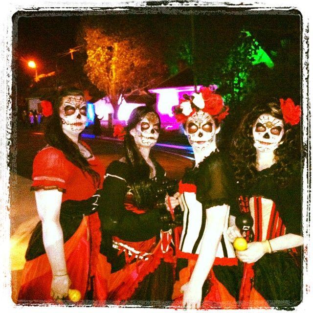 #MOTAT #OldeHallowsEve2013 #Halloween #Costume www.motat.org.nz #sugarskull