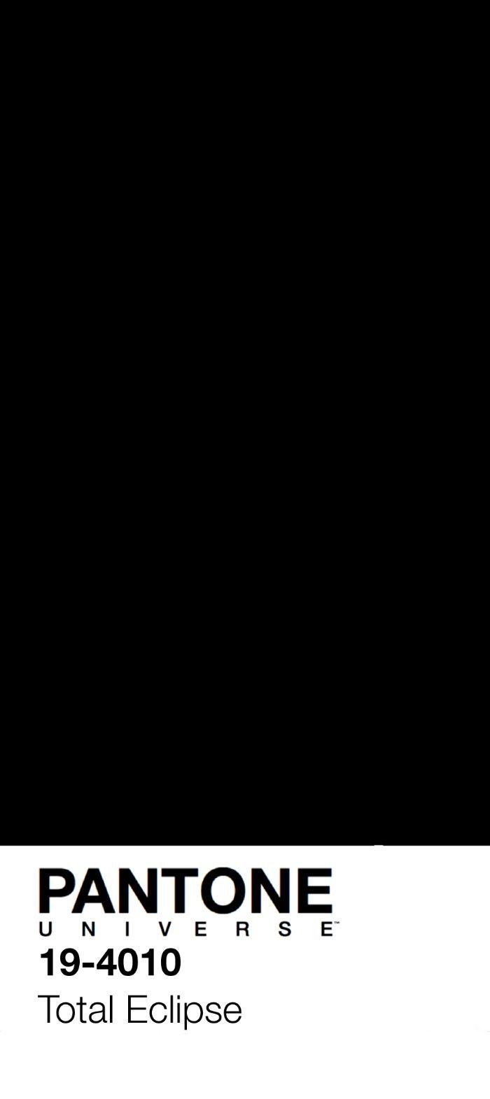 PANTONE Total Eclipse by NESOI | Pantone Parody в 2019 г ...