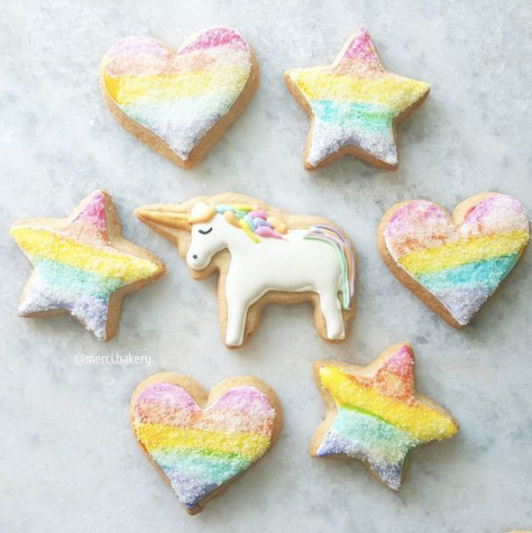 Unicorn Food is Real and as Magical as it Sounds: Unicorn Cookies