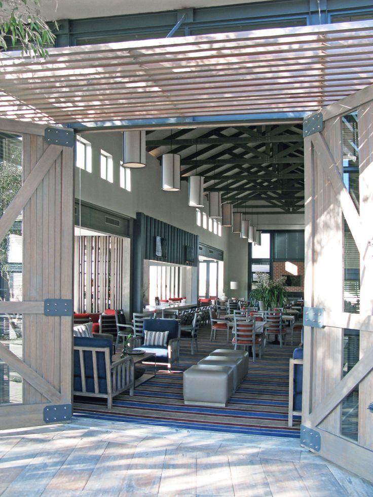 K/M2K Architecture and Interior Design, Copperleaf Golf Club, Centurion, South Africa. Golf Pub/Restaurant Interior