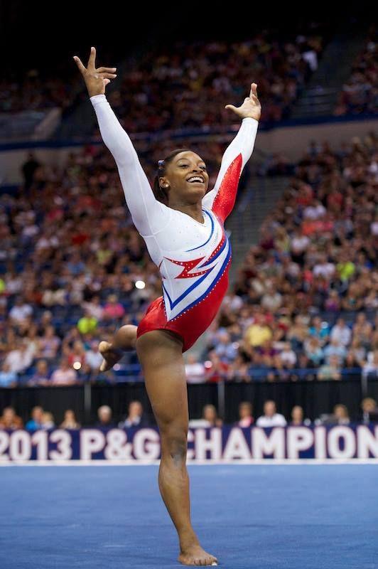 Simone Biles-- 2013 Nationals Night 2 (senior)