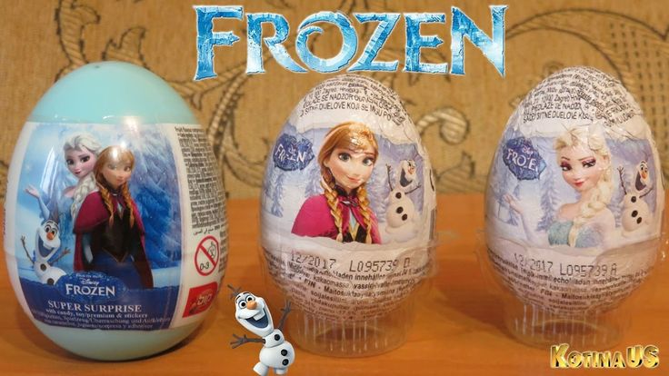 Frozen Disney Surprise Eggs Opening Eggs with Toys Disney Frozen Elsa An...
