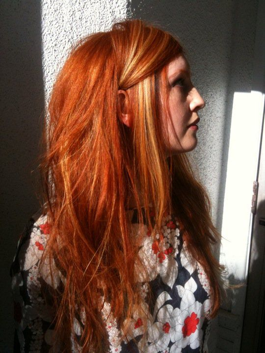 Best 25+ Orange highlights ideas on Pinterest | Ginger ...