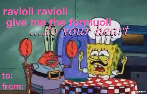 Spongebob Valentines Day Card Instagram pics – Spongebob Valentines Day Card