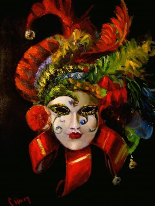 Mardi Gras Mask tattoo idea