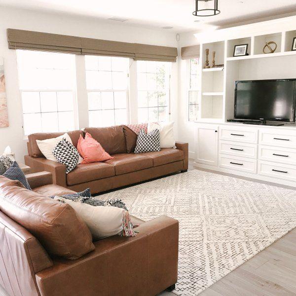 Turner Square Arm Leather Sofa Leather Sofa Living Room Leather Couches Living Room Living Room Leather