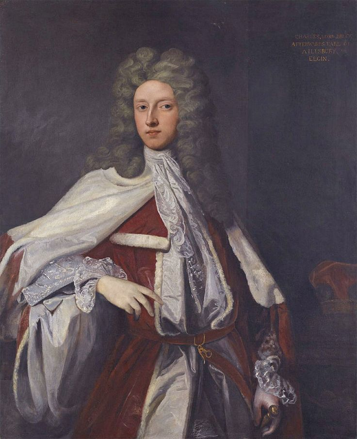 Charles Bruce, 3rd Earl of Ailesbury & 4th Earl of Elgin (1682–1747), styled Viscount Bruce of Ampthill 1685-1741, was a British peer. Bruce was returned to Parliament for Great Bedwyn in 1705, until 1710, he was returned for both Great Bedwyn & Marlborough & chose to sit for the latter. In 1711 he was summoned to the House of Lords through a writ of acceleration in his father's junior title Baron Bruce of Whorlton. In 1741 he succeeded his father in the earldoms of Elgin & Ailesbury