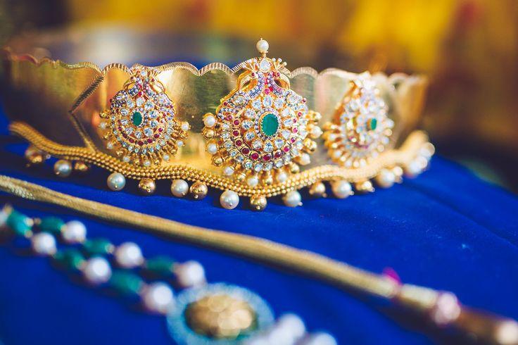 Jewellery : Totaram Jewellers Photography : Kishor Krishnamoothi #southindianwedding #telugubride #teluguwedding
