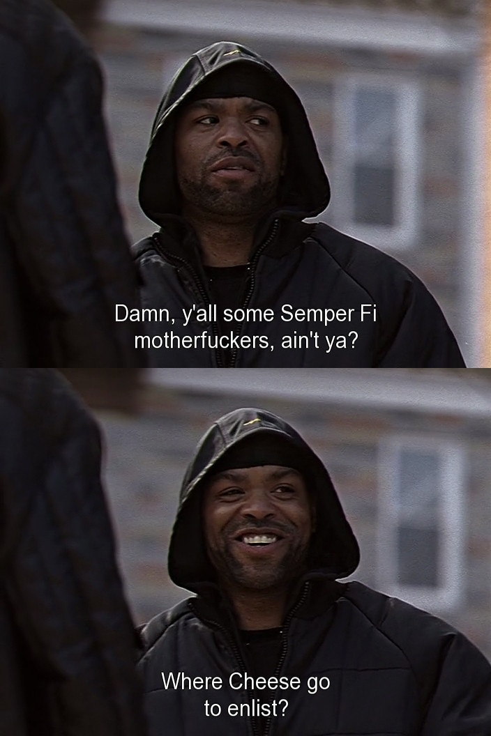 Method Man Aka Cheese From The Wire
