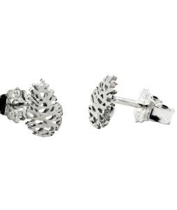 Norwegian Made silver ear rings by Kvist & Kvae.