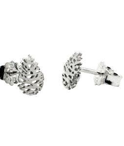 Norwegian Made silver ear rings by Kvist & Kvae.