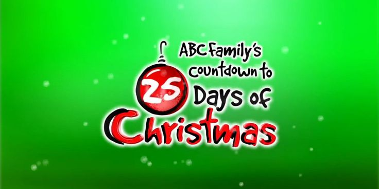 ABC Family's Lineup for Its '25 Days of Christmas' Was Just Released and We Can't Stop Smiling