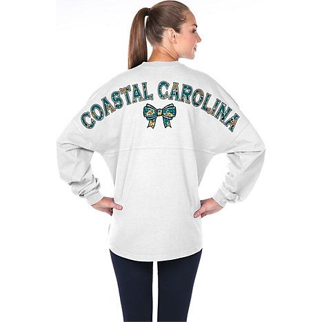 Wear For Fun® Coastal Carolina University Women's Long Sleeve T-Shirt available at the Chanticleer Store
