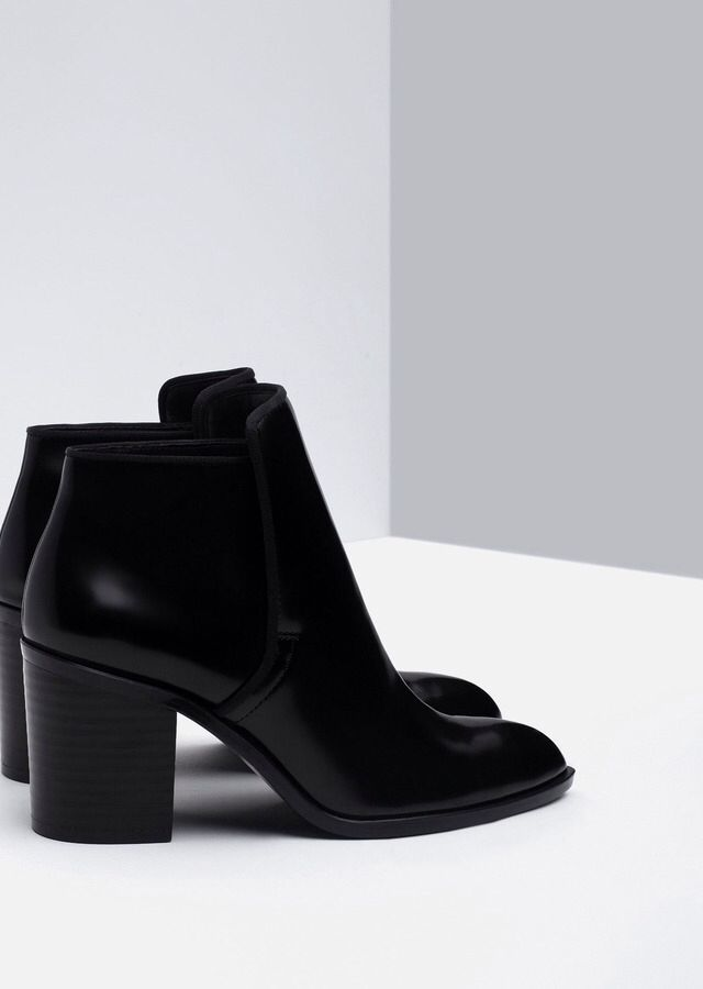 Zara - Wide heel ankle boot