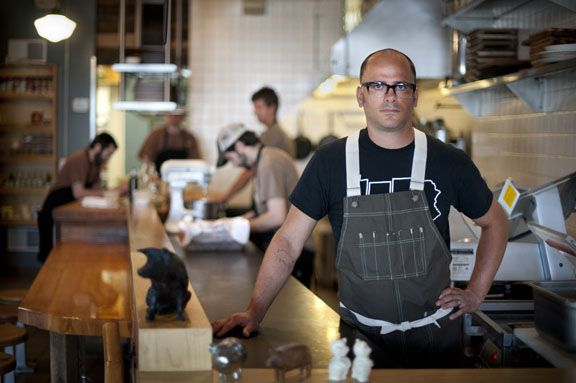 Chef Justin Severino of Cure Restaurant In Pittsburgh