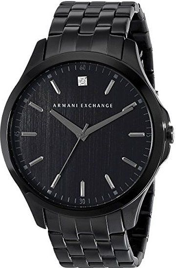 Armani Exchange Men's AX2159 Black PVD Stainless Steel Watch
