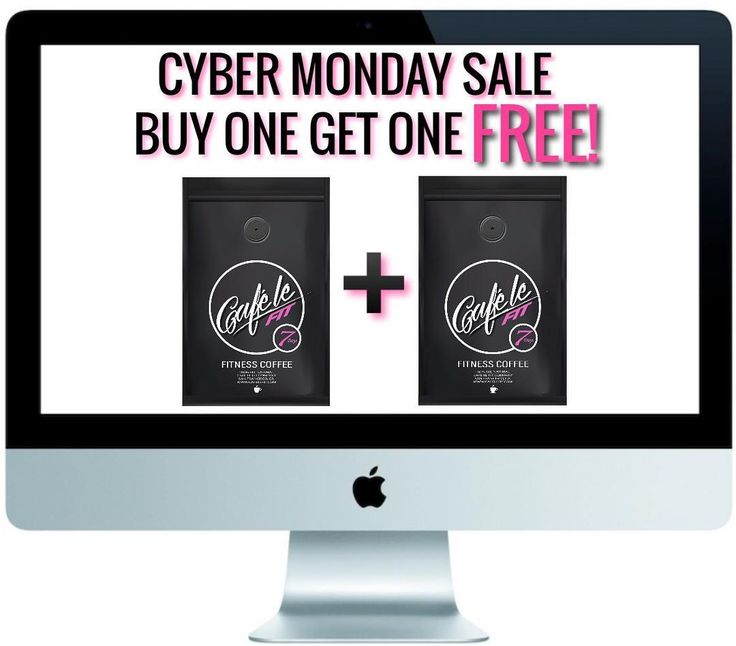 CYBER MONDAY SALE BUY ONE GET ONE FREE! On our @Cafelefit 7 Day Fitness Coffee!  Click link in bio to order @Cafelefit  Order at www.Cafelefit.com  Follow @Cafelefit  #Cafelefit