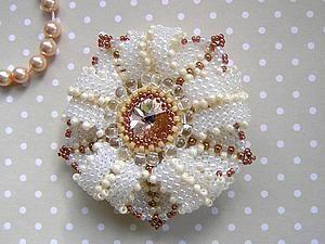 Создаем брошь «Утренняя звезда» | Ярмарка Мастеров - ручная работа, handmade