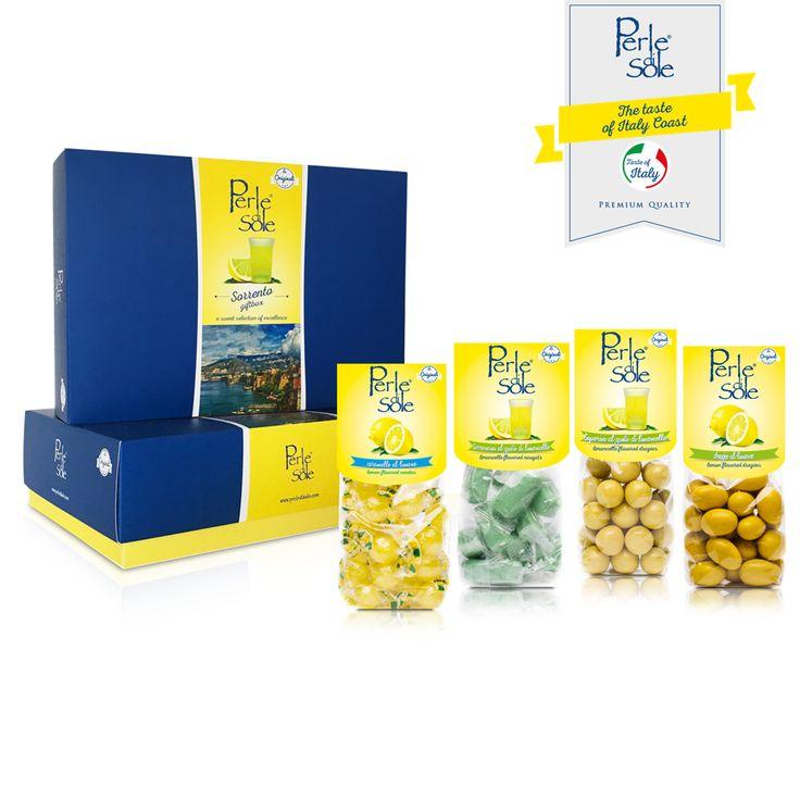 """Una selezione esclusiva di prodotti che Perle di Sole ha pensato per te ed ha racchiuso nella preziosa """"SORRENTO GIFT BOX"""". Scegli il Made in Italy, scegli Perle di Sole le Originali! #PERLEDISOLE  http://www.perledisole.com/product/new-gift-box-sorrento-650gr/"""
