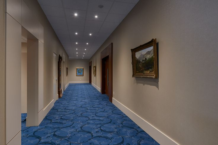 Corridor leading to cloak rooms and main Banquet Hall