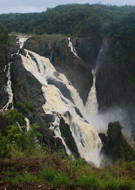 Barron Gorge Falls, #TropicalNorthQueensland #nationalpark #waterfall
