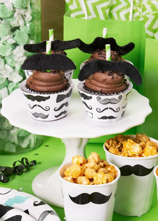 Check Out Our Mustache Man Birthday Party Theme