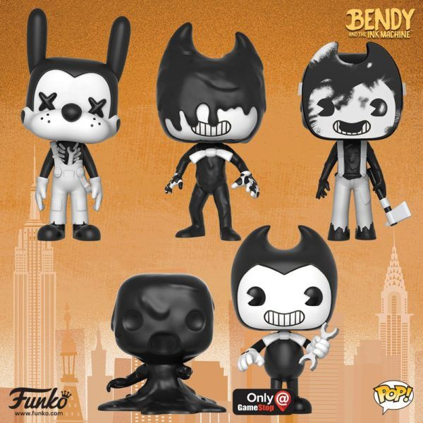 Bendy and the Ink Machine Funko Pop Games Bendy Vinyl Figure #26701