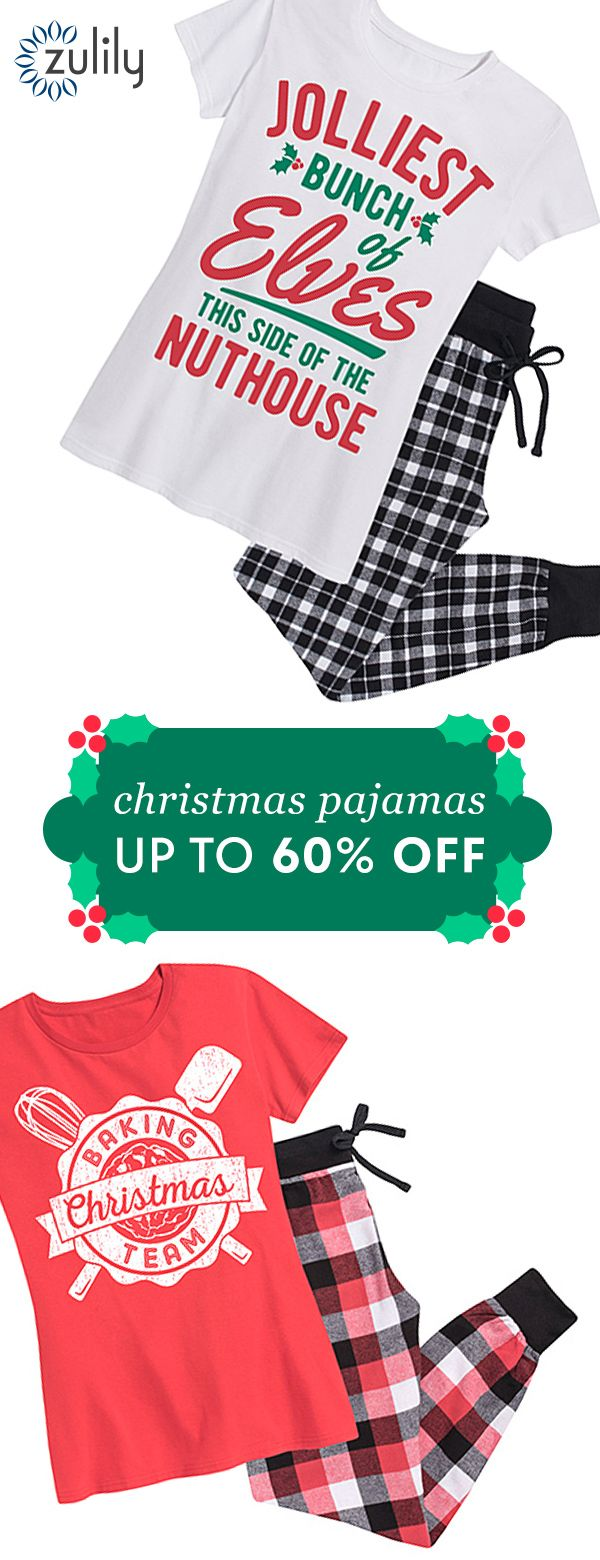 Sign up to shop Christmas pajamas for the whole family up to 60% off. Marshmallow-laden hot cocoa, a glittering tree and coordinating pj's? It's got to be Christmas morning!