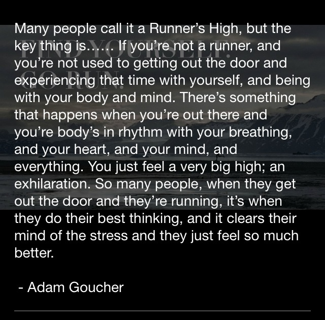 The Runner's High.