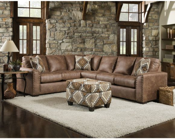 Santa Fe Sectional Collection, American Furniture Santa Fe