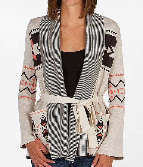 Billabong Peaceful Powers Cardigan Sweater- At Boathouse Hillside mall