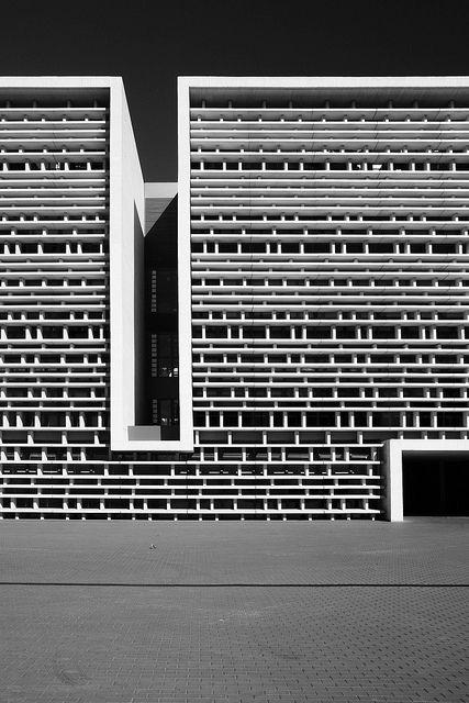 EDIFICI ETSIT - UPV (SÈRIE IN BLOG) by DAVID MARÍ,