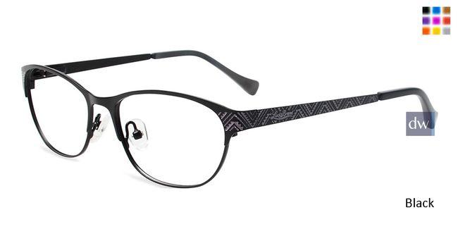 340842088ef Black Lucky Brand Waves Eyeglasses