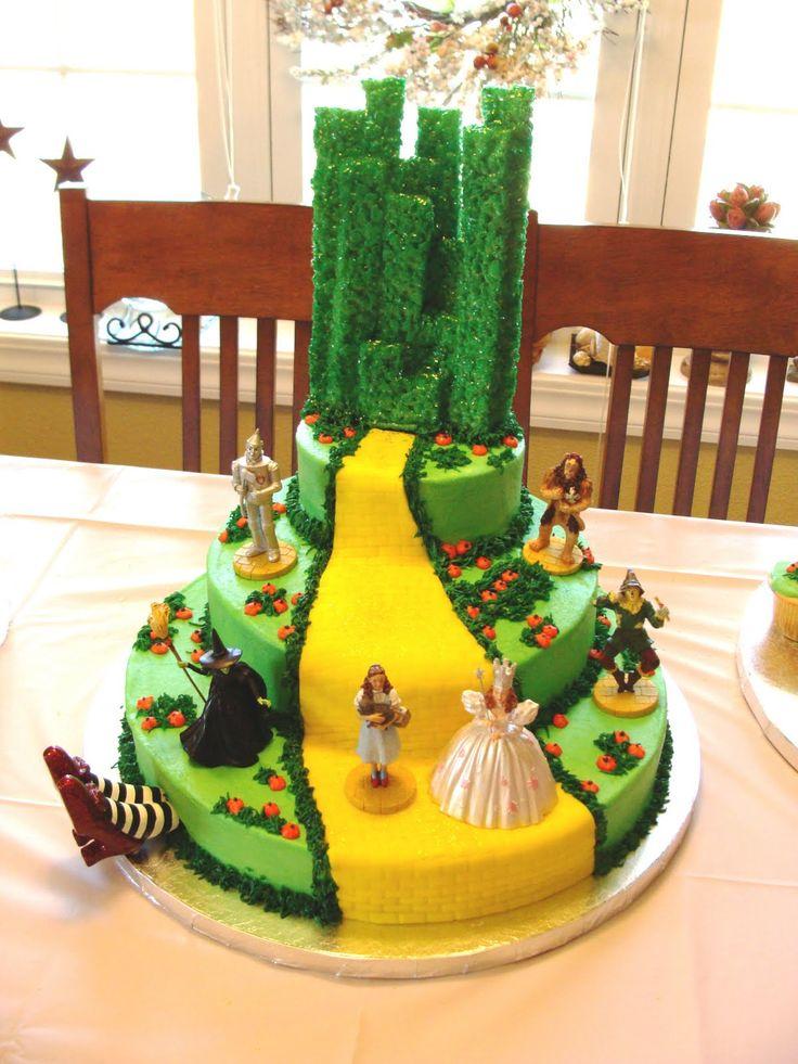 Wizard of Oz cake: Wizardofoz, Oz Birthday, Cakes, Wizards, Dr. Oz, Oz Party, Wizard Of Oz, Birthday Cake