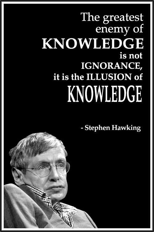 Stephen Hawking 17 Tribute Poster Motivational Inspirational Quote Picture Print