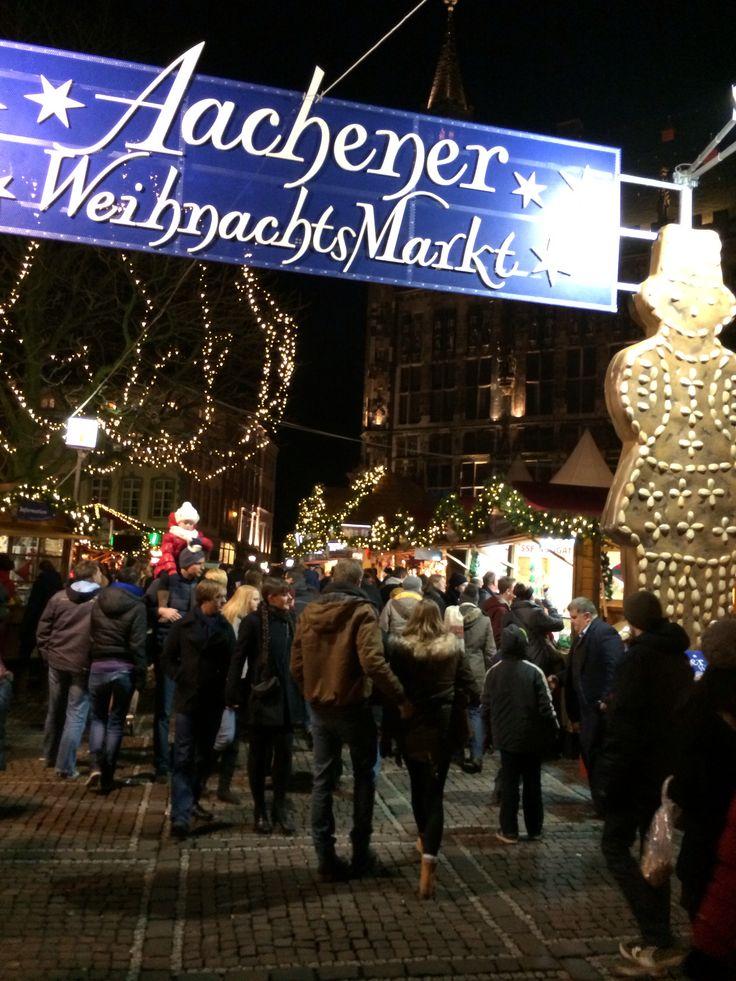 Weihnachtsmarkt Aachen, GERMANY
