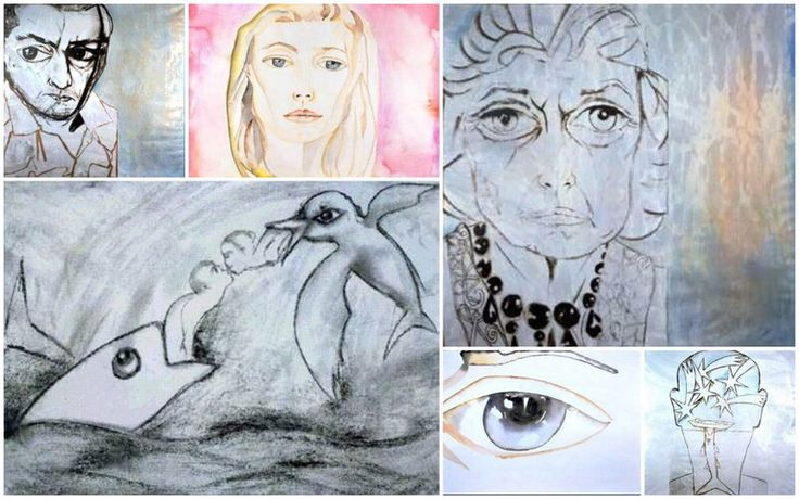 Francesco Clemente. Check out Brigette's review of Edmund White's Inside A Pearl: My Years In Paris here: http://chaptersandscenes.wordpress.com/2014/08/01/brigette-reviews-inside-a-pear-my-years-in-paris/